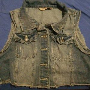Nice Jean jacket vest